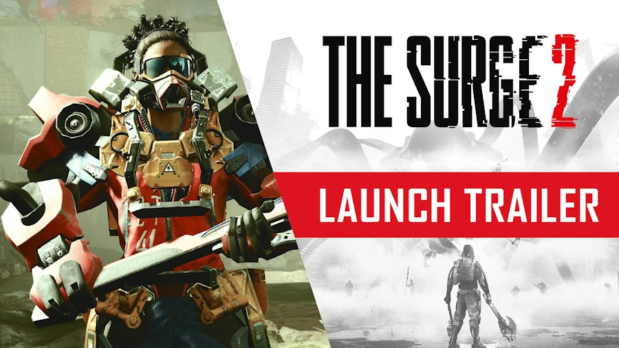 the surge 2 launch trailer deck13 interactive focus home interactive pc ps4 xb1