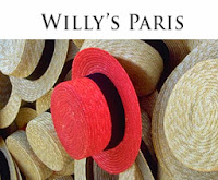 magasin d'usine de la La chapellerie Willy's Paris