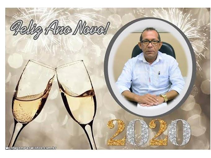 """Vereador  Daniel Enfermeiro """"Que 2020 seja um ano de colheita de tudo aquilo que plantamos em 2019"""""""