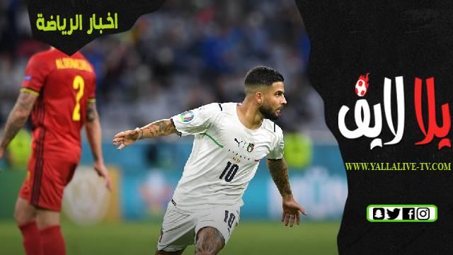 مباراة إيطاليا وإسبانيا