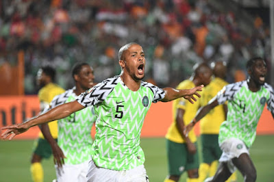 Nigeria beat South Africa 2-1, qualify for AFCON semi-final