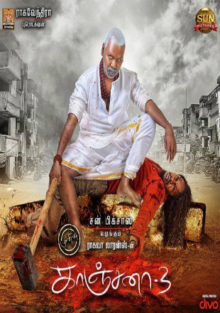 Kanchana 3 2019 HDRip 720p [Hindi Dubbed]