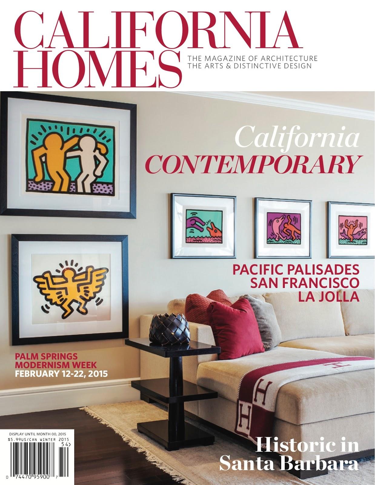 Creating The Wow Factor: California Homes Magazine Winter 2014