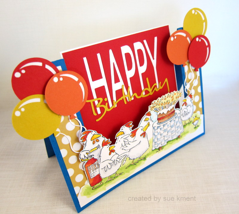 Sue's Stamping Stuff: Happy Birthday To You-Penny Black