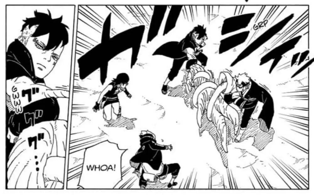 Pembahasan Manga Boruto Chapter 58