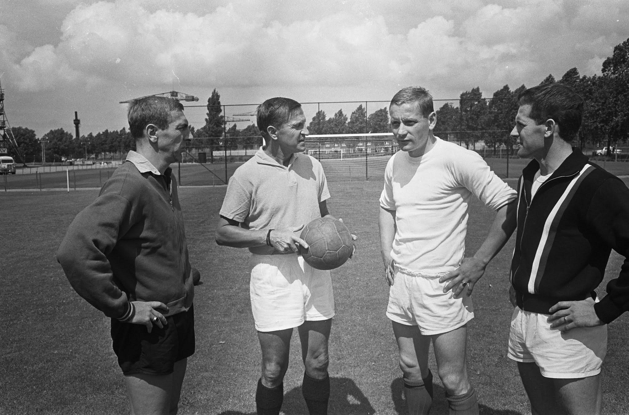 Piet Fransen, Henny Weering en Willy Kment