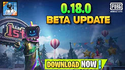 PUBG Mobile Lite New Beta Update 0.18.0 Download Link