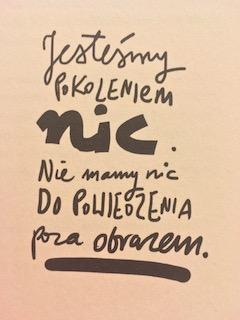 """rozmowy są męczące... """"#To o nas"""" Piotr C., fot. paratexterka ©"""