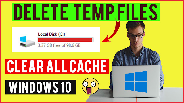 Explained about how to Delete temp/junk files on Windows 10