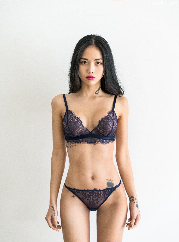 Korean Fashion Model - Baek Ye Jin - Sexy Lingerie Collection - TruePic.net - Picture 4