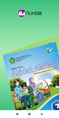 Aplikasi Buku Siswa Akidah Ahlak Kelas 3 MI Kurikulum 2013 Revisi 2016