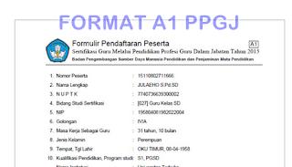FORMAT A1 PPGJ