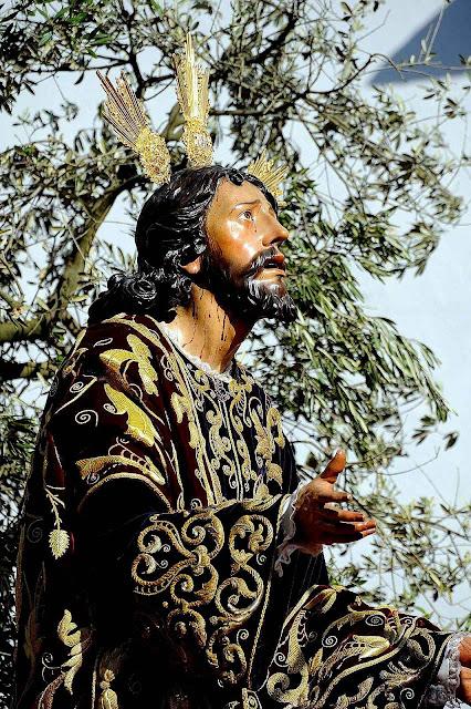 Cristo na Oração no Horto das Oliveiras.