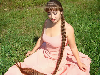Long Hair Pictures Girl with her super long braid