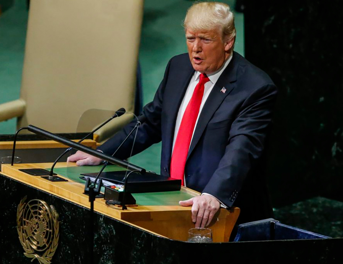 United Nations speech Trump