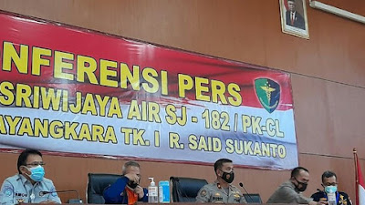 3 Korban Sriwijaya Air SJ182 Kembali Teridentifikasi, Termasuk Kopilot