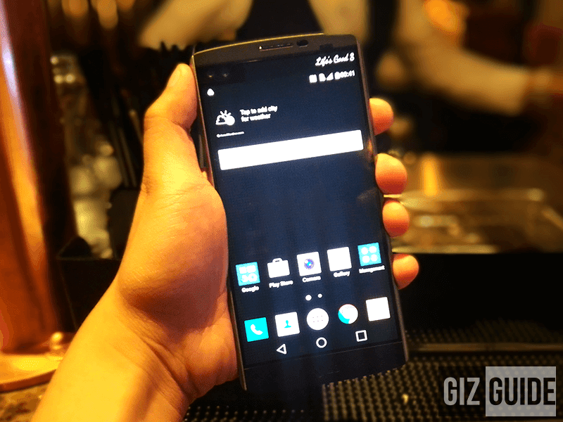 LG V10 PH launch