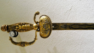 Espada do General Juan Manuel de Rosas, Museo Historico Nacional, Buenos Aires