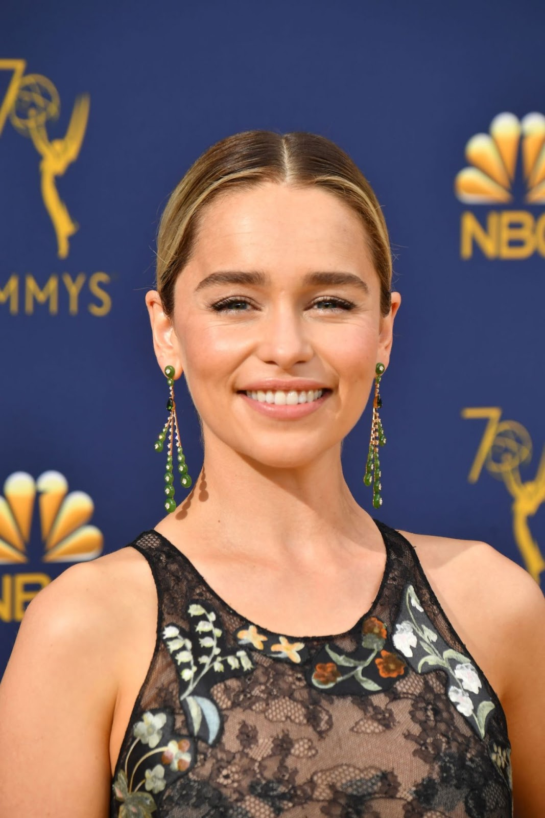 Emilia Clarke – 70th Emmy Awards at Microsoft Theater in Los Angeles