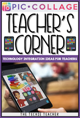 Don't miss all of the fabulous blog posts by the PicCollage Teacher Ambassadors over on the PicCollage blog under the Teacher's Corner section. Read about some fabulous technology integration ideas for any classroom! | The Techie Teacher