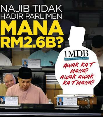 Image result for Surendran mengejek kerusi kosong Najib di Dewan ...