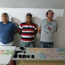 Detienen a tres hombres que asaltaban en taxi gasolineras de Coatzacoalcos, Veracruz