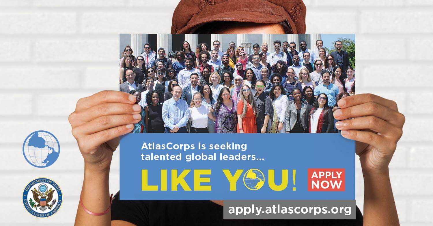 The Atlas Corps Fellowship to the United States for 2021