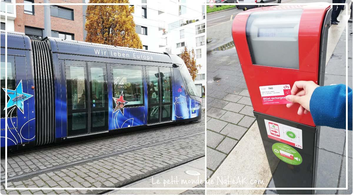se déplacer à Strasbourg en transport en commun