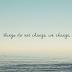 Mudanças