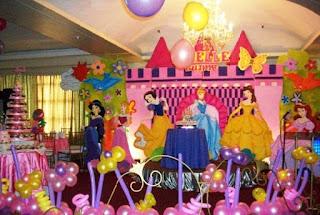Dekorasi Ulang Tahun Anak Perempuan Tema Princess 3