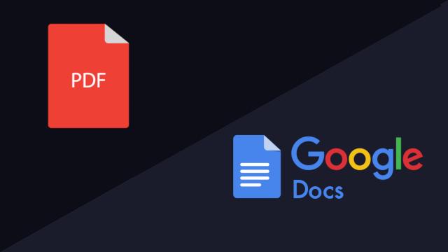 خطوات تحويل ملف PDF إلى Google Docs - شرح بالصور