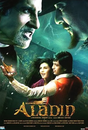 Poster Of Bollywood Movie Aladin (2009) 300MB Compressed Small Size Pc Movie Free Download worldfree4u.com