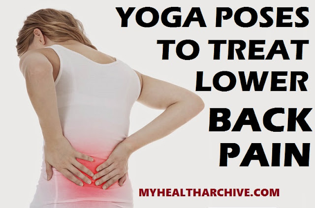 Yoga poses on Treating lower back pain