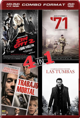 COMBO Thriller HD VOL 201 DVDHD LATINO NO SUB