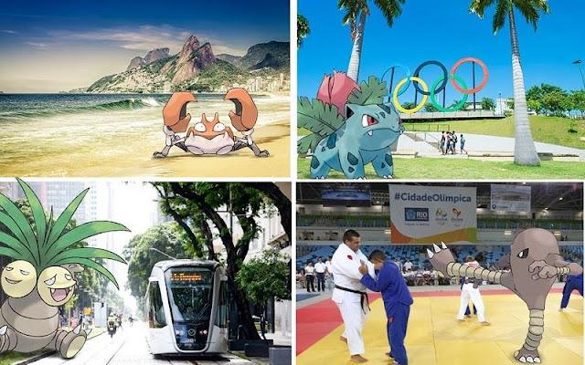 #Rio2016 también quiere a Pokemon Go