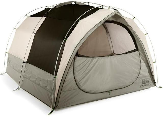 rei co-op kingdom six camping tent