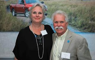 Laurie Carini with her husband Wayne Carini
