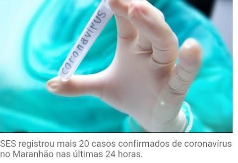 Maranhão registra 16 mortes pelo novo coronavírus e 293 casos confirmados