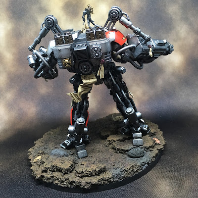 Grey Knight Grand Master in Nemesis Dreadknight Back