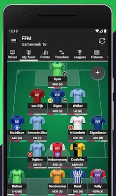 تطبيق Fantasy Football Manager