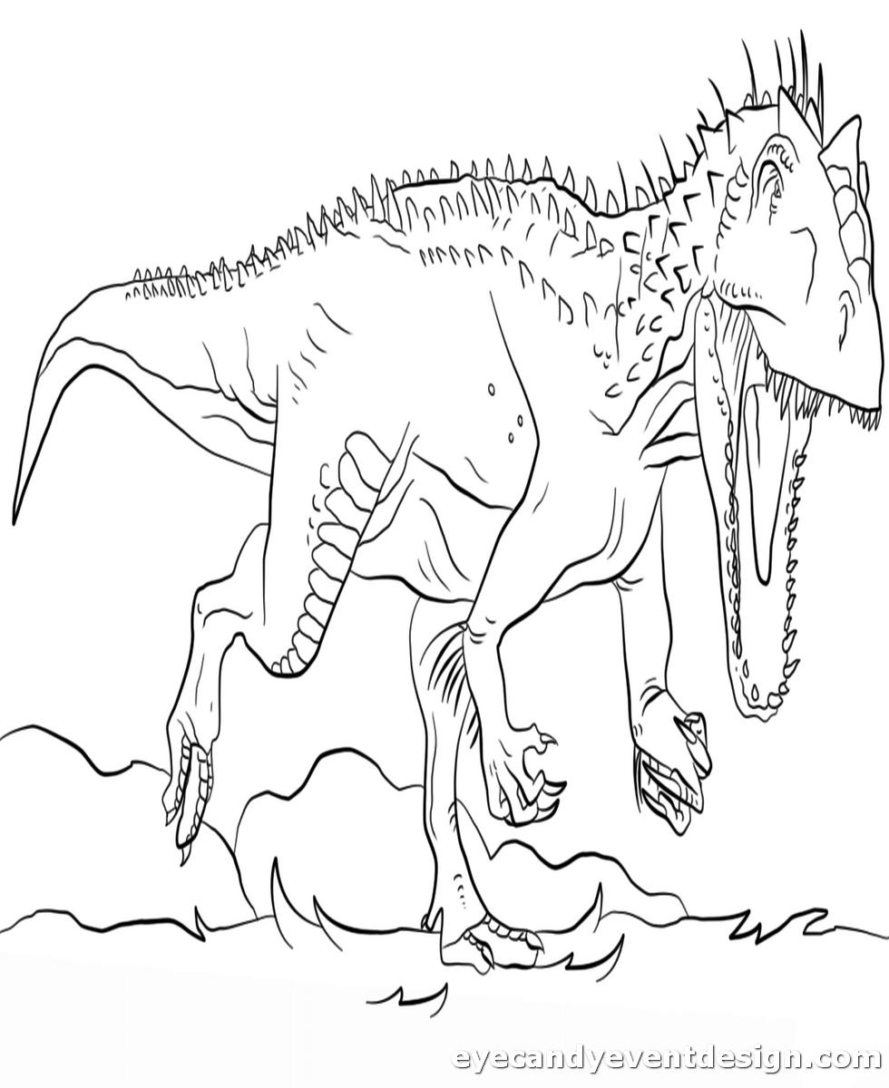 Dinosaurier Bilder Zum Ausmalen Kostenlos