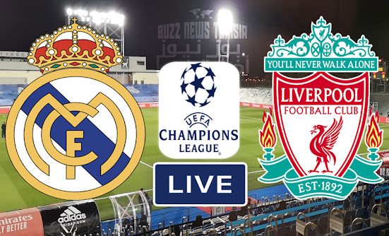 Match Real Madrid vs Liverpool Live Stream In Champions League