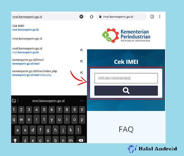 Buka Situs Kemenperin Untuk Cek IMEI HP Terdaftar atau Tidak
