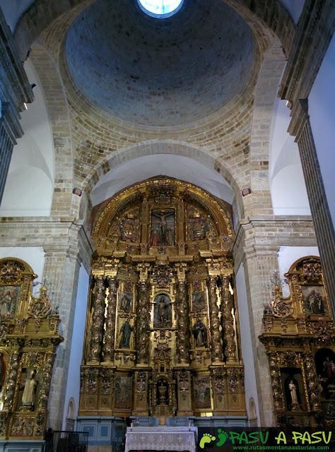 Retablo de San Juan Bautista de Corias