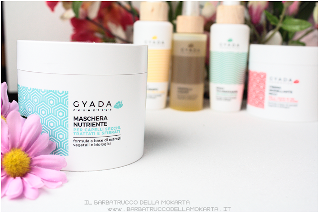 maschera capelli nutriente  review gyada cosmetics, vegan bio, capelli hair routine