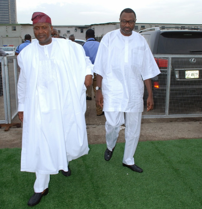 Image result for DANGOTE AND OTEDOLA