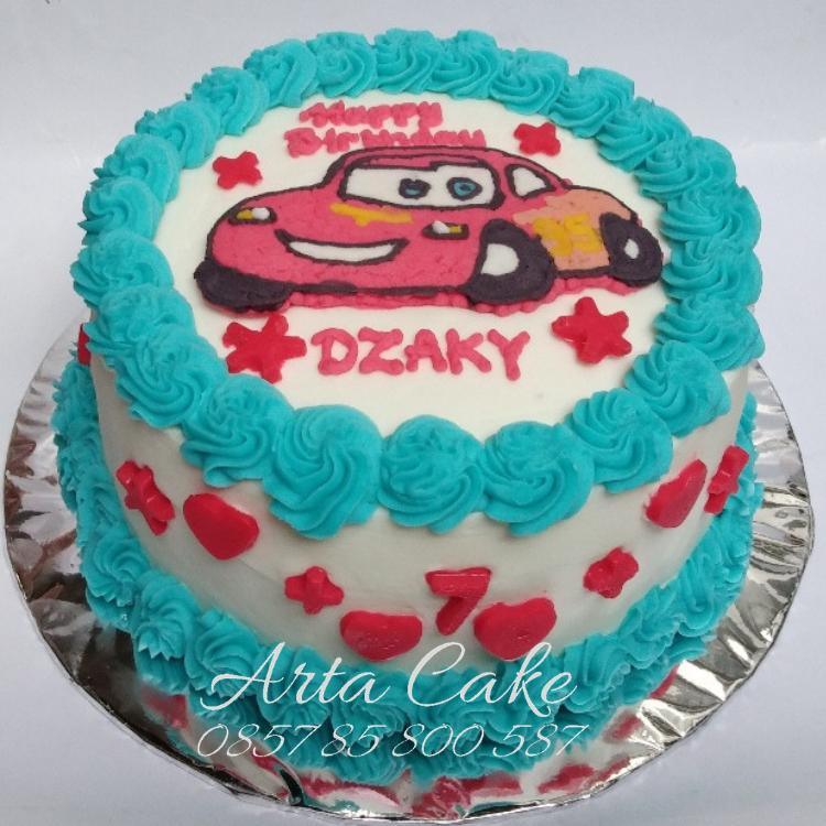 Kue Ulang Tahun Mobil Cars Kue Ulang Tahun Bantul Dan