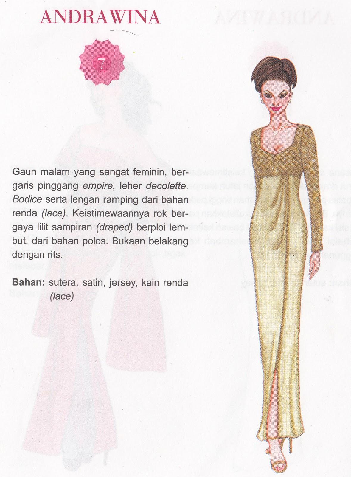 Gaun Pesta Malam Feminin Jasa Jahit Yogyakarta Kedai Kebaya