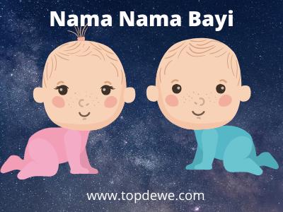 Rangkaian nama bayi laki laki