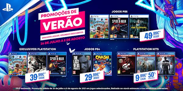 Promoções de Verão da PlayStation chegam aos pontos de venda habituais